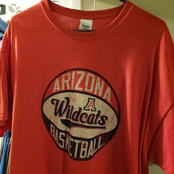 half off 90b12 6a239 Arizona Wildcats Basketball Shirt